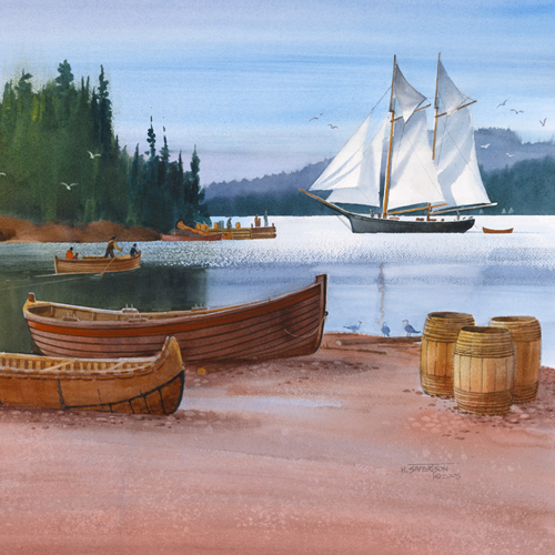 Sivertson Gallery Shop: Boat Days