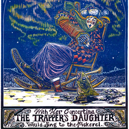Sivertson Gallery Shop: The Trapper's Daughter Sings to the Pickerel