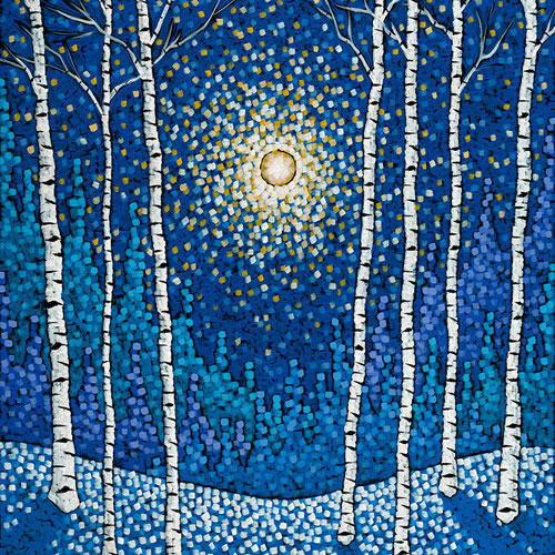 Sivertson Gallery Shop: Frozen Birch Forest