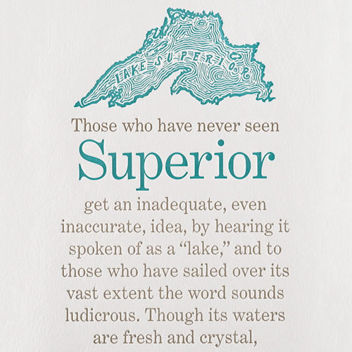 Sivertson Gallery Shop: Superior is a Sea
