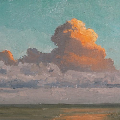 Sivertson Gallery Shop: August Clouds original painting