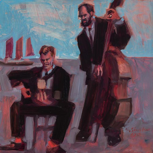 Sivertson Gallery Shop: Clearwater Hot Club Original Painting